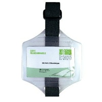 Armband with Card Display Pouch